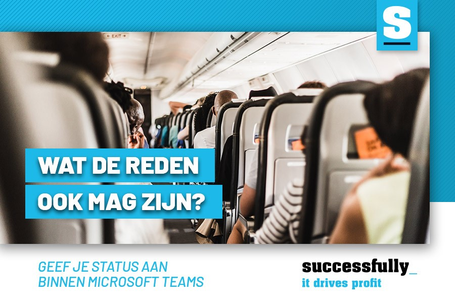 Stel je 'statusbericht' in Microsoft Teams in!
